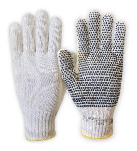 guantes moteados
